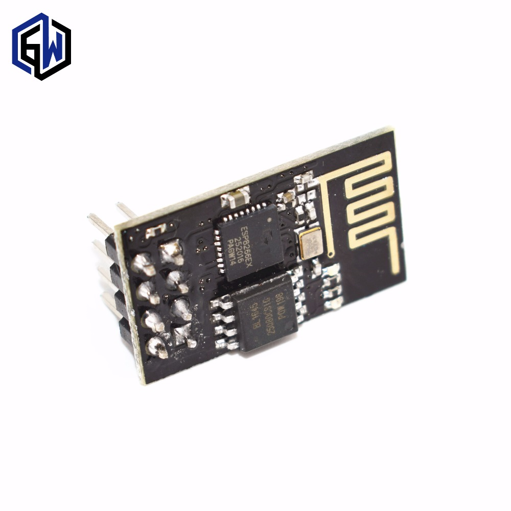 50pcs Upgraded version ESP 01 ESP8266 serial WIFI wireless module wireless transceiver 50pcs lot ESP01