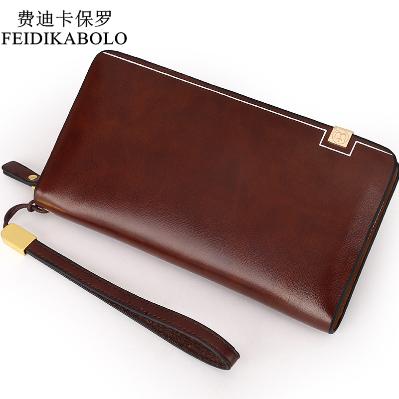 BOLO Brand Bag Men clutch Bags Luxury Male Leather Purse Monederos Carteras Mujer Men's Clutch Wallets Handy Bags Man Wallets 2016 famous brand new men business brown black clutch wallets bags male real leather high capacity long wallet purses handy bags