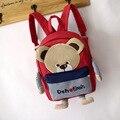 2016 Nova Bonito do Urso de Crianças mochila Criança saco de Escola Ombros Sacos Mochilas Para Meninos E Meninas Mochila Escolar Saco do bebê Um Dos