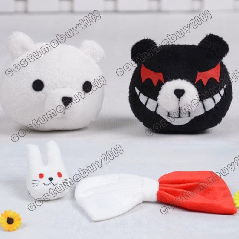 Dangan Ronpa Danganronpa Junko Enoshima Monobear Hair Clip Bears Only Cosplay