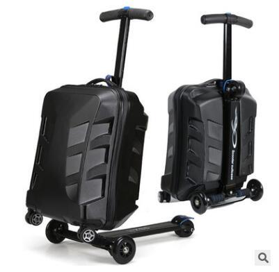 Marque 21 scooter valise avec roues Voyage Bagages Cas micro Scooter Cas qualité planche à roulettes bagages à roulettes valise Bagages