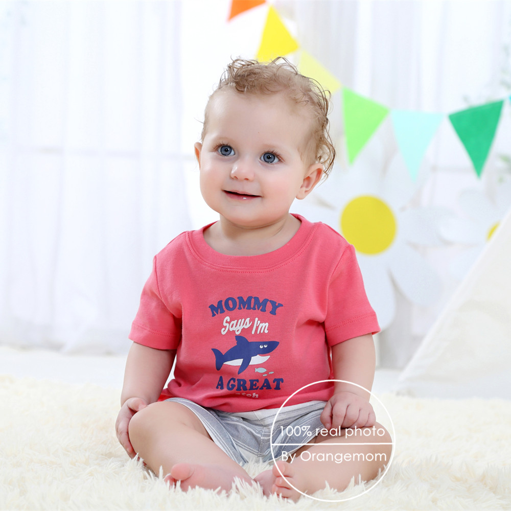 Clearance Sale Brand Baby Boy Clothes Summer 2017 Baby