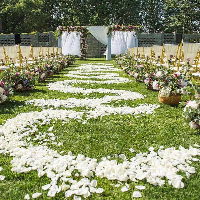 1000 Pcs Rose Petals For Wedding Quality Artificial Silk