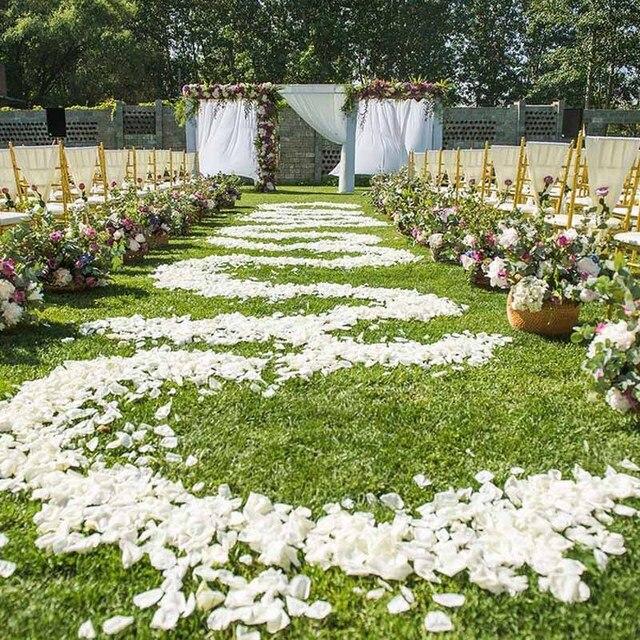 1000 Pcs Rose Petals For Wedding Quality Artificial Silk Rose Petal ...
