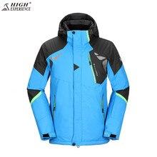 Kış kayak takım elbise erkekler kayak ceket erkekler kar pantolon Snowboard pantolon Snowboard takım elbise su geçirmez kalınlaşmak kış erkek spor takım elbise