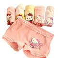 Cute Cartoon Underpants Girls Boxers Cotton Culotte Fille Enfants Elastic Child's Underwear Lace Briefs Kids Lingerie