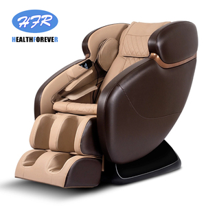 Image 2 - Korea India Japan Latest Fix SL Track Power Supply Price 3d Foot Shiatsu Cheap Electric 4d Zero Gravity Full Body Massage Chair