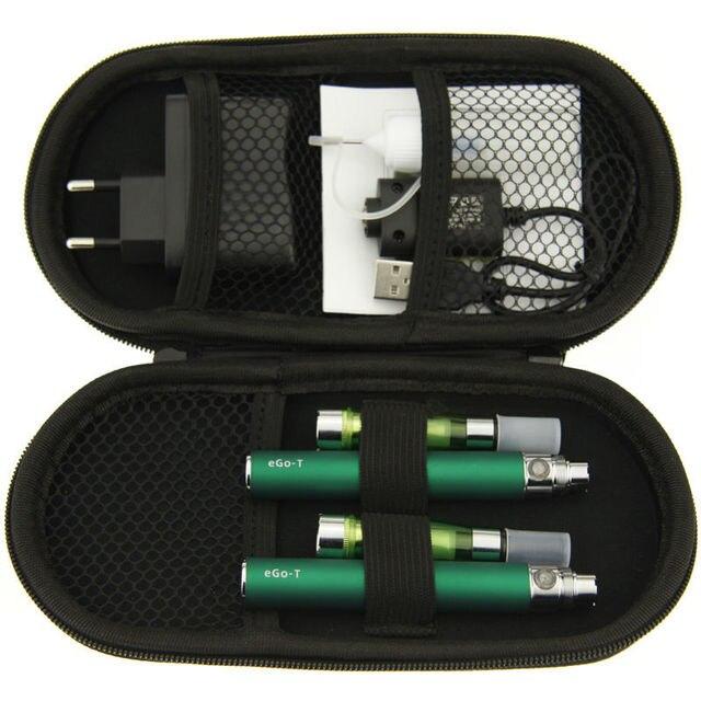 Горячие продажи Эго T Ce5 испаритель подарок случае Распылитель Vape Электронной Жидкости Двойной Электронной Сигареты Комплекты Электронных сигарет Кальян ручка