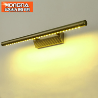 Free Shipping High Quality 5W LED Wall Lamp Bronze Color Stainless Steel Material LED Wall Lights