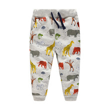 Jumping Meters New baby boy clothes sweatpants autumn spring children fashion toursers clothing animals print boys kids pants