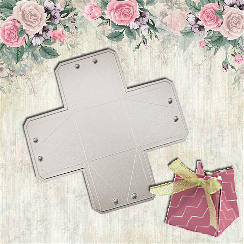 Box Metal Die Cutting Scrapbooking Embossing Dies Cut Stencils Decorative Cards DIY album Card Paper Card Maker baby metal die cutting scrapbooking embossing dies cut stencils decorative cards diy album card paper card maker