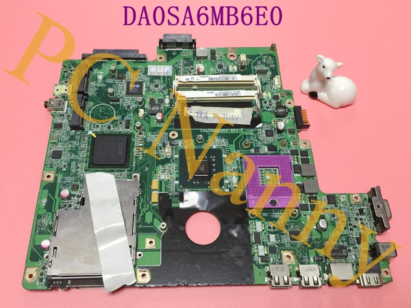 FOR Gateway SA6 M-73 M-7315U Series Motherboard 31SA6MB0020 DA0SA6MB6E0 GL40 DDR2