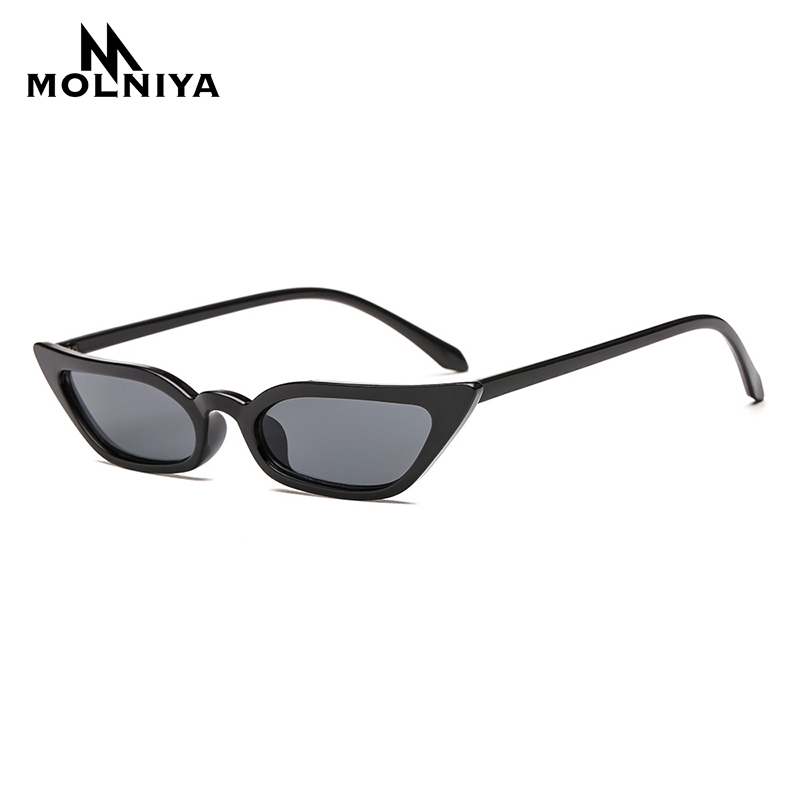 f6ef3d15dd7 MOLNIYA 2019 New Women Cateye Vintage Sunglasses Brand Designer Retro  Points Sun Glasses superstar Female Lady Eyeglass Cat Eye-in Sunglasses  from Apparel ...