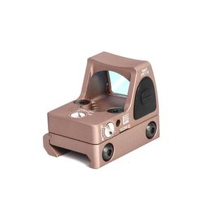 Image 2 - LUGER RMR Red Dot Sight Hunting Optical Scope Micro Reflex Sight Glock Riflescope fit 20mm Weaver Rail Airsoft Gun Rifle Scope