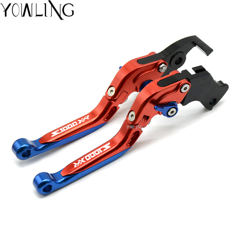 Brake Clutch Levers For BMW S1000XR 2015 2016 Motorcycle Accessories Folding Extendable in Levers Ropes Cables from Automobiles Motorcycles