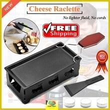 Молочный сыр портативный антипригарный металлический сырный раклетница печь гриль плита ротастер противень плита набор кухонный инструмент для выпечки