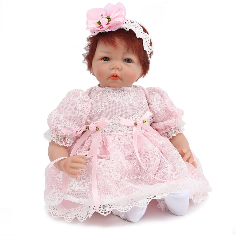 NPKDOLL Reborn bébé poupée fille enfant en bas âge princesse Luca personnalisé par artiste à la mode à la main 22 pouces enfants Playmate réaliste