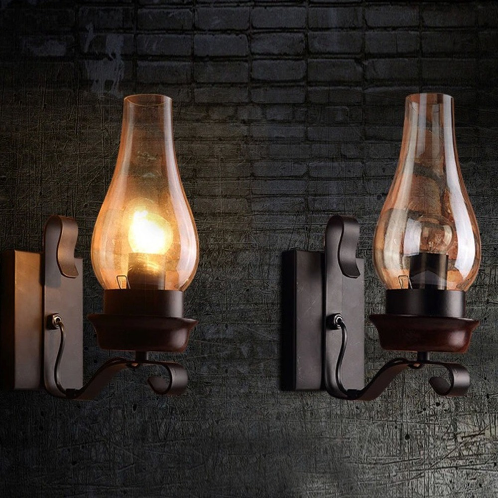 Industrial Wall Decor Aliexpresscom Buy 1pc Vintage Art Decor Iron Art Wall Lamp