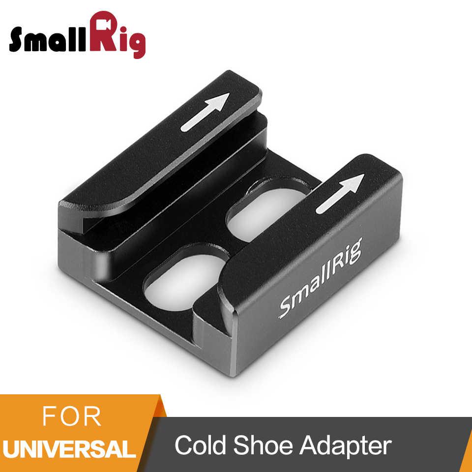 """Адаптер для холодной обуви SmallRig с двумя безопасными гибками, совместимый с универсальными аксессуарами для камеры с резьбой 1/4 """"-1960"""