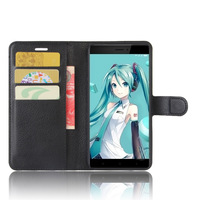 4X Case For Xiaomi hongmi 4X Cases Wallet Card Stent Lichee Pattern Flip Leather Covers Protect Cover black HM RM hongmi4X Case