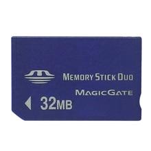 הגעה חדשה מכירה למעלה 32MB זיכרון מקל Duo כרטיס זיכרון כרטיס עבור PSP/מצלמה לתוך זיכרון מקל ללא פרו כרטיס