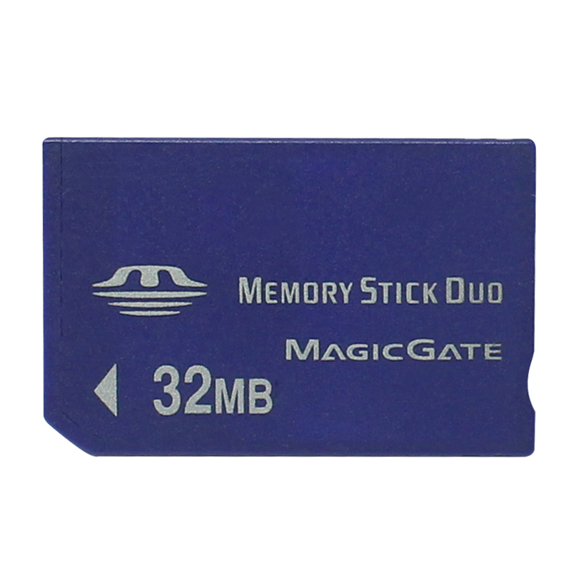 New Arrival Top Sale 32MB Memory Stick Duo Card Memory Card For PSP / Camera With MS Card Adapter