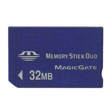 Yeni varış en satış 32MB Memory Stick Duo kartı hafıza kartı/PSP/kamera içine bellek sopa olmayan PRO kart