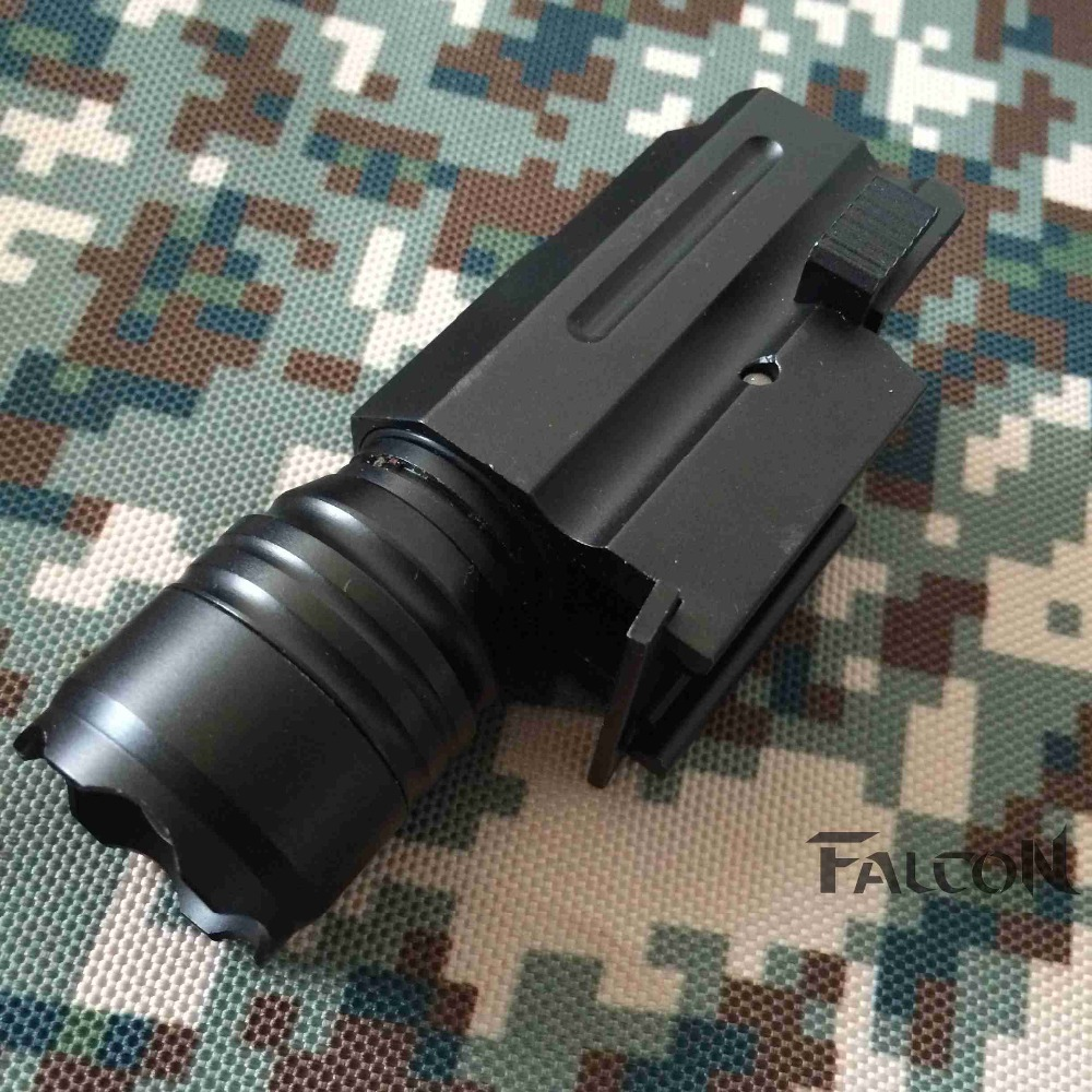2016 New 600Lm GL17 LED Flashlight Zinc alloy Light for Hunting Bulb Tactical Gun Rifle Mount