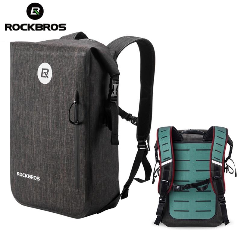 ROCKBROS 24L Large Capacity MTB Cycling Backpack Waterproof School Bag Outdoor Travel Hiking Camping Bicycle Bike Sport Backpack