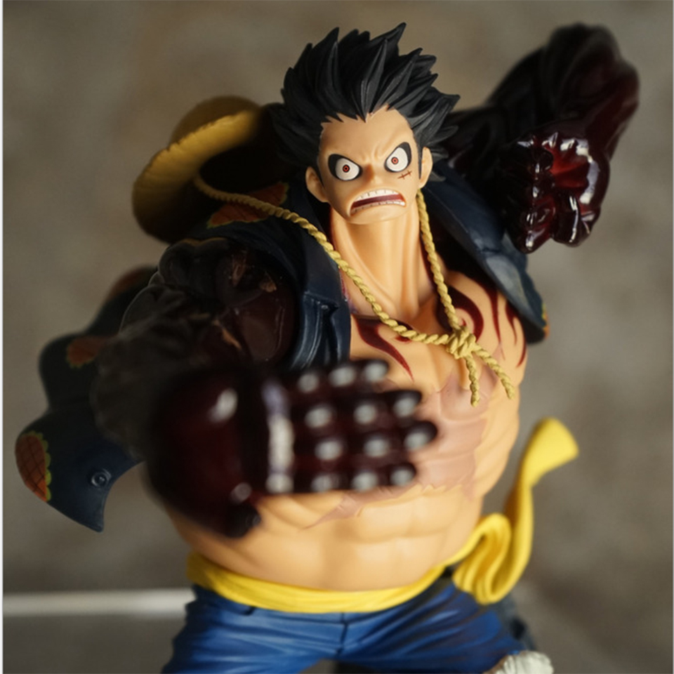 This figure stands around 5 inches tall and. Tronzo Anime One Piece Action Figure Luffy Gear Fourth PVC ...