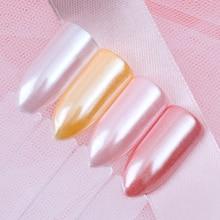 Born pretty 1.5 г/кор. nail art блеск бриллиант жемчуг русалка порошок сияющий белый nail art порошок diy nail украшения(China (Mainland))