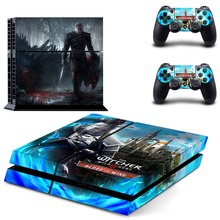 The Witcher 3 Wild Hunt PS4 Skin Sticker Decal Vinyl for Sony Playstation 4 Console and 2 Controllers PS4 Skin Sticker