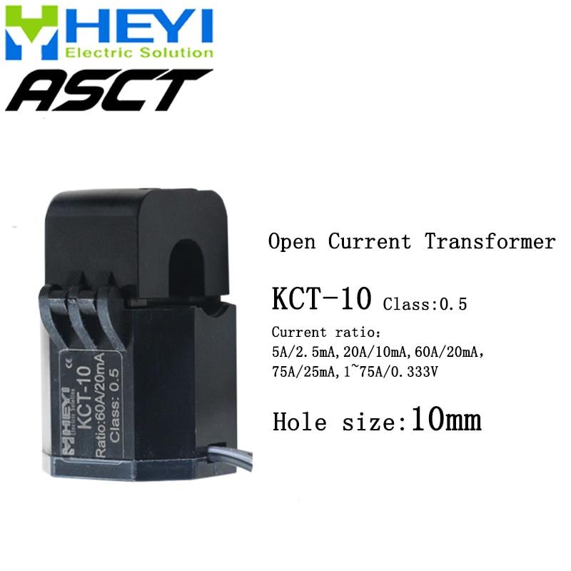 a bracadeira atual do transformador kct 10 01