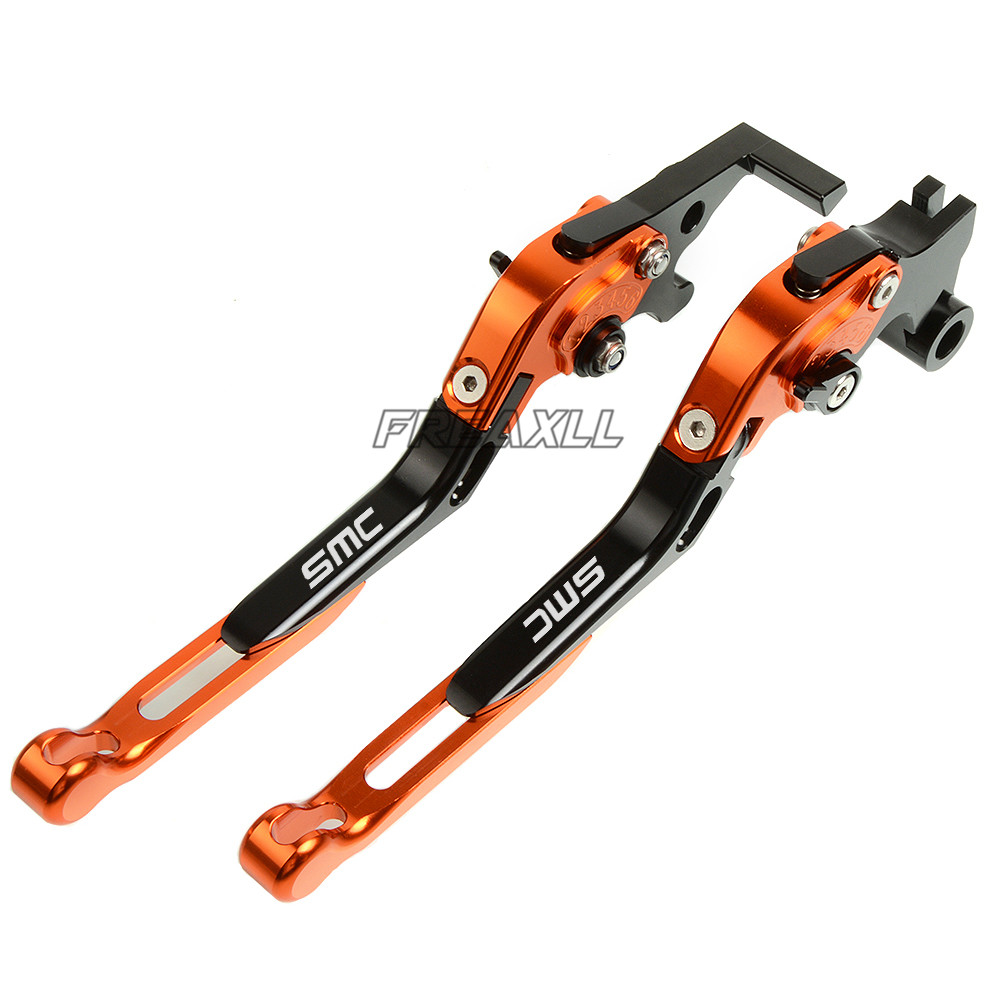 For KTM 690 SMC SMCR SMC R 690SMC SMC690 High Quality CNC Aluminum Motorbike Motorcycle Brake Clutch Levers Foldable in Levers Ropes Cables from Automobiles Motorcycles