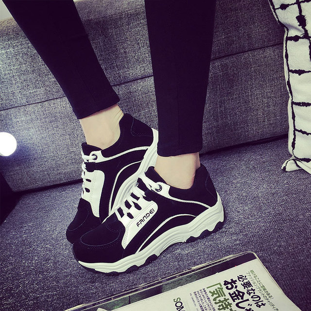 High Quality Women Shoes Causal Black Fashion Flat Women Shoe Trainers Breathable Light Soft Shoes Woman For Sport