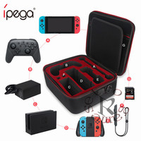 Multifunction Storage Travel Carrying Bag Protective Cover Hard Shoulder Box Big Space Case For Nintend Switch NS Console