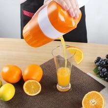 Lekoch 1 unid Plástico de Color Naranja Exprimidor Mano Exprimidor Manual de Naranja Limón Exprimidor de Jugo De Prensa Exprimidor de Frutas Fresas Fruta