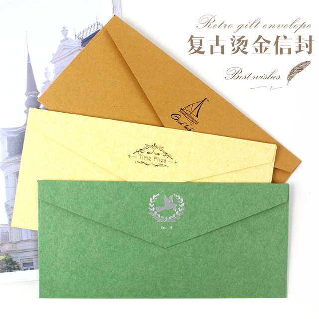 Hot stamping color printing envelopes business invitation letter hot stamping color printing envelopes business invitation letter invitation cards thickening stopboris Choice Image