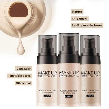 Liquid Foundation Long-lasting Moisturizing Women Nude Makeup Face Foundation Liquid Cover Concealer Facial Base Care TN фото