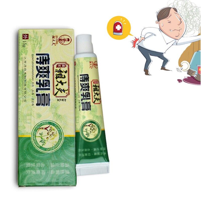 1pc Chinese Ointment Plaster Powerful Hemorrhoids Cream Musk Anus Prolapse Anal Fissure Bowel Bleeding Cream Hemorrhoids