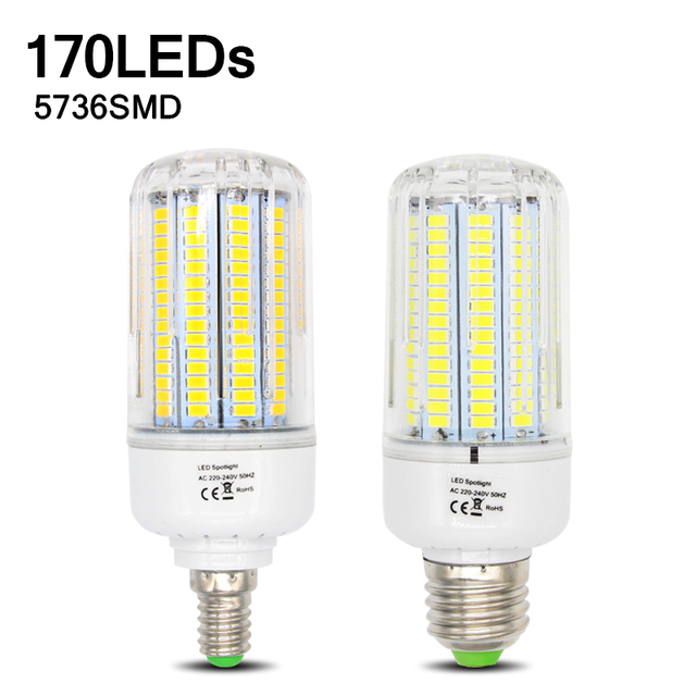 5736 Lampada LED Lamp 220V Corn Light Spot LED Bulb E14 Candle Spotlight Ampoule LED Bulbs E27 Lamparas Chandelier Bombillas