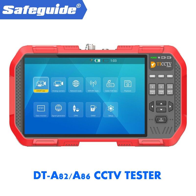 DT-A82/A86 7.0 polegada todos vendo angel & touch-screen, Duas Baterias Recarregáveis De Lítio, DC12V/2A Saída
