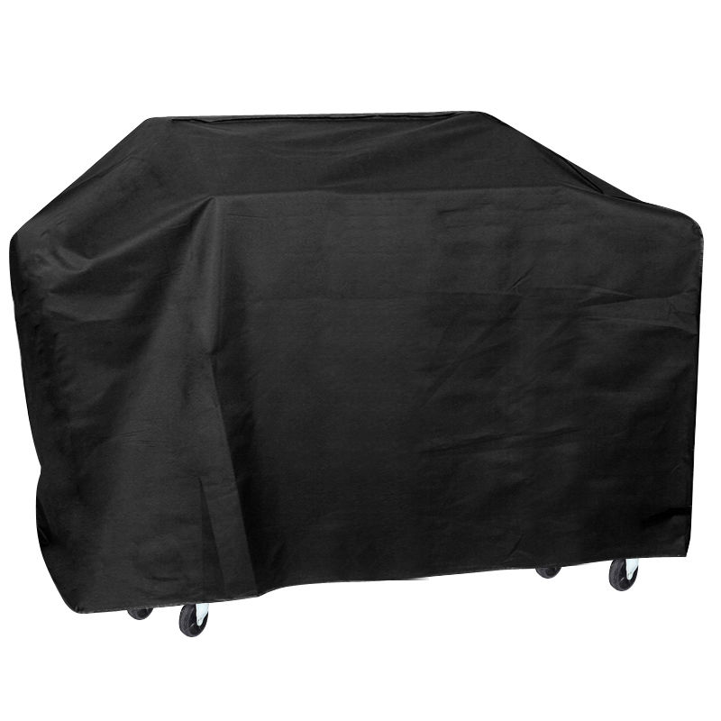 75 Wide Waterproof BBQ Cover Gas Barbecue Grill Protection Black