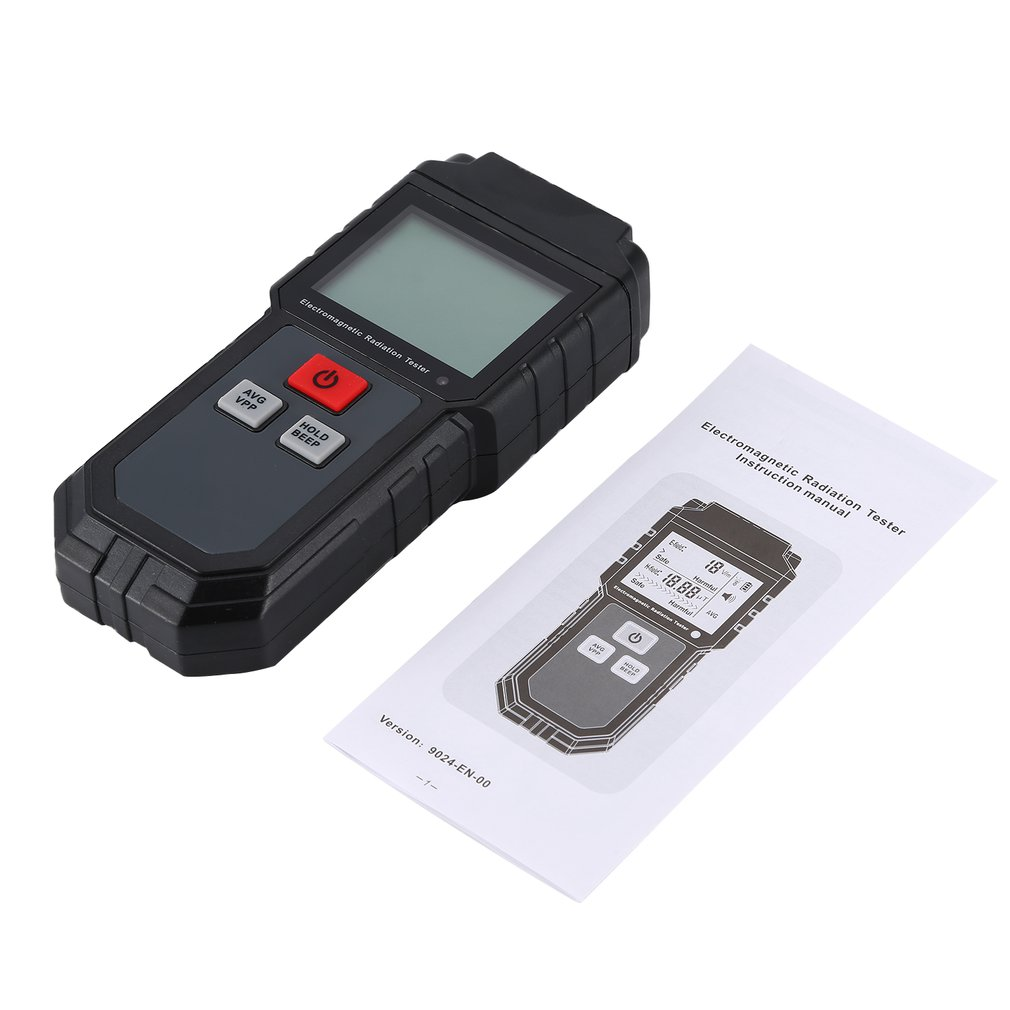 ET825 Electromagnetic Radiation Tester Wave Radiation Detector EMF Meter Portable Practical Ultraviolet Light Gas Detection