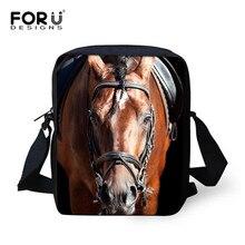 Forudesigns Для мужчин Курьерские сумки Прохладный Животные волк мешок 3D деним с животным принтом сумка Для женщин Дорожная сумка, сумочка(China)