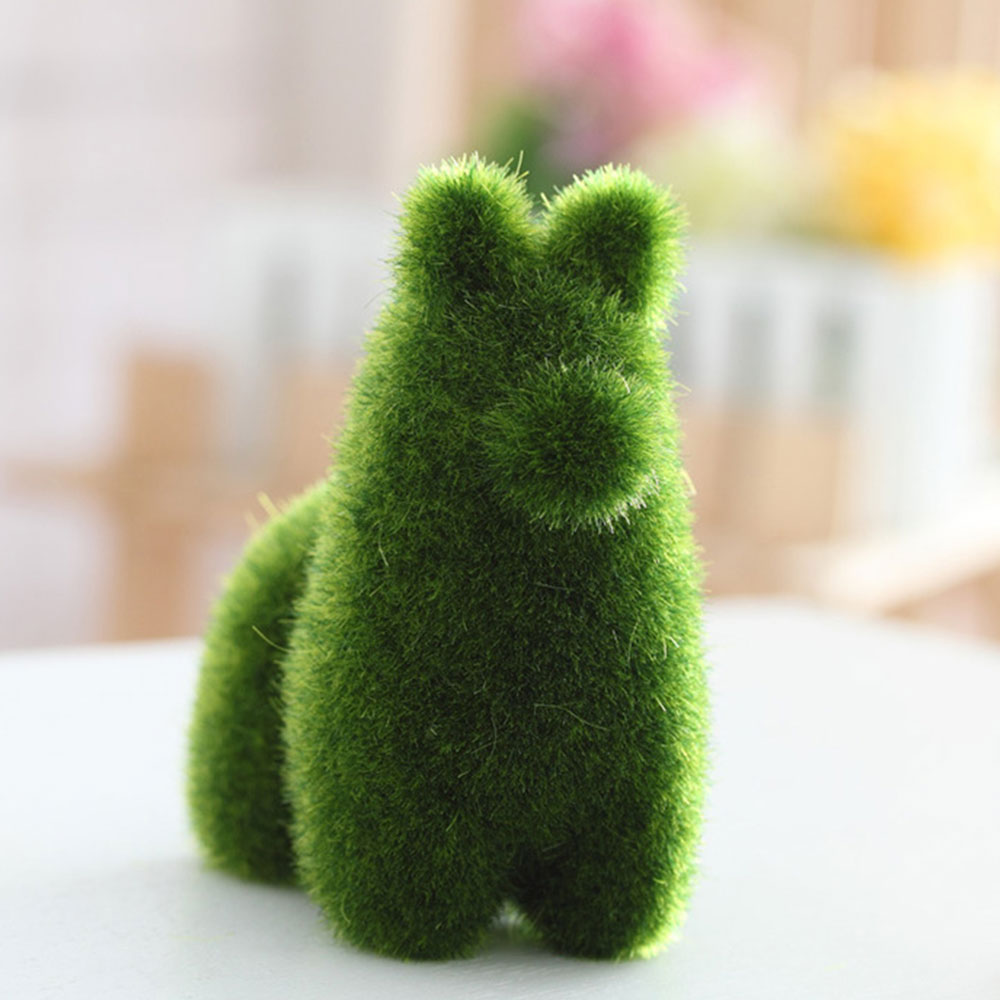 Ручной работы в форме животных искусственный сток Искусственный животных эмуляция животных креативный милый Рождественский Декор для свадеб и садов игрушка - Цвет: Alpacas