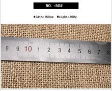 free shipping  50# Old burlap sack cloth yellow linen background DIY handmade tea ceremony