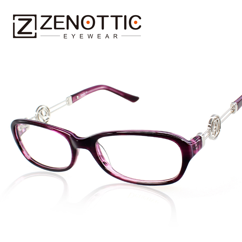 ZENOTTIC 2018 New Design Fashion Eyeglasses Frame Women Lady Style - Apparel Accessories - Photo 1