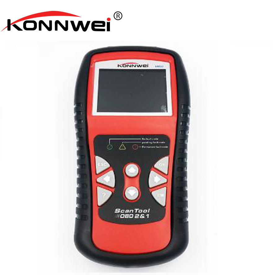 KONNWEI Auto Code Reader Obd2 Auto Diagnostic Scanner Support German French English Russian Obd2 Scanner For Car Diagnosis kw830 obd automotive computer fault diagnosis instrument auto detector decoder engine failure to zero om520