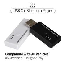 Nueva Llegada USB EC5 Bluetooth con Transmisor FM para el Coche Home Música Teléfono con Micrófono